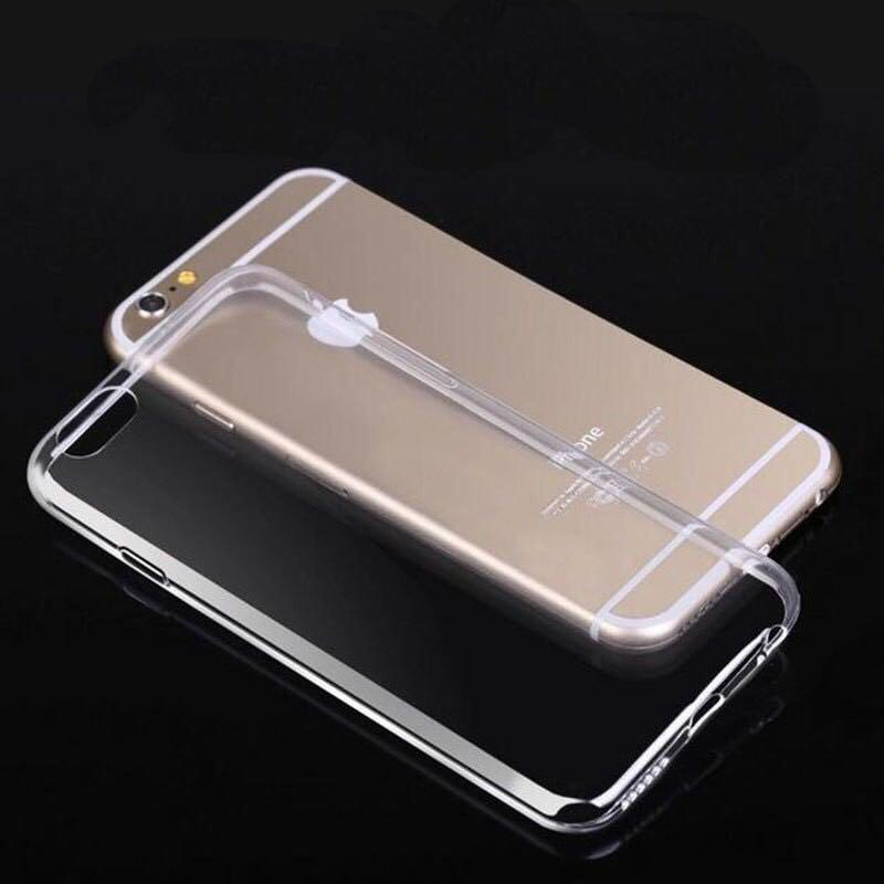 iPhone 6 Plus transparent case ready stock free delivery