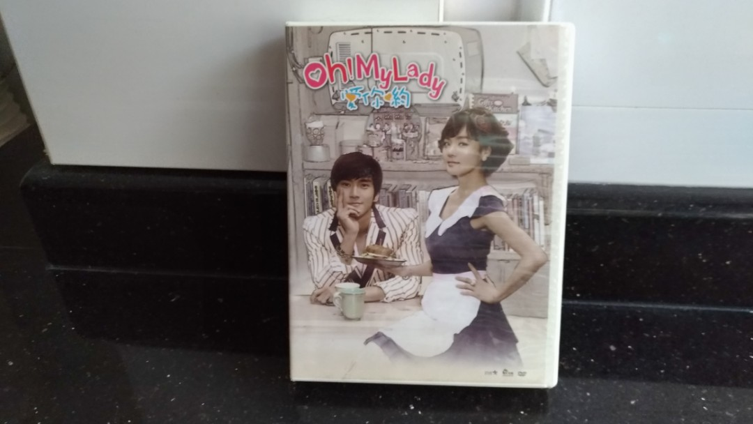 Korean drama DVD #3--Birth of Rich 富翁的诞生   Yu Hee The Witch 魔女游戏   Oh My  Lady