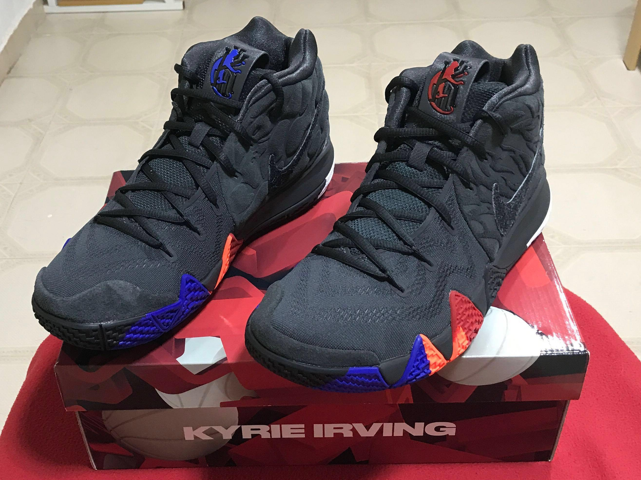 uk availability 615cb 115f5 Kyrie 4 Year of the Monkey, Sports, Sports Apparel on Carousell