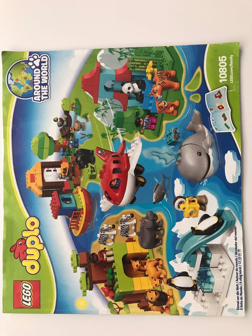 Lego Duplo Around The World Babies Kids Toys Walkers On