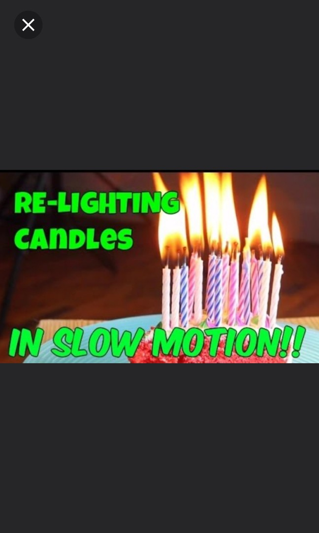 Magic Relighting Candle Happy Birthday Candles Trick Toy Design Craft Others On Carousell
