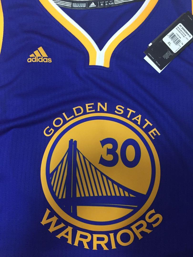 7383967dde34c NBA Jersey Golden State Warriors Stephen Curry(Brand New)