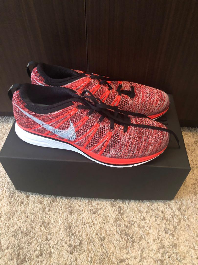 size 40 2f85b 71177 Nike flyknit racer multi color, Men s Fashion, Footwear, Sneakers on ...