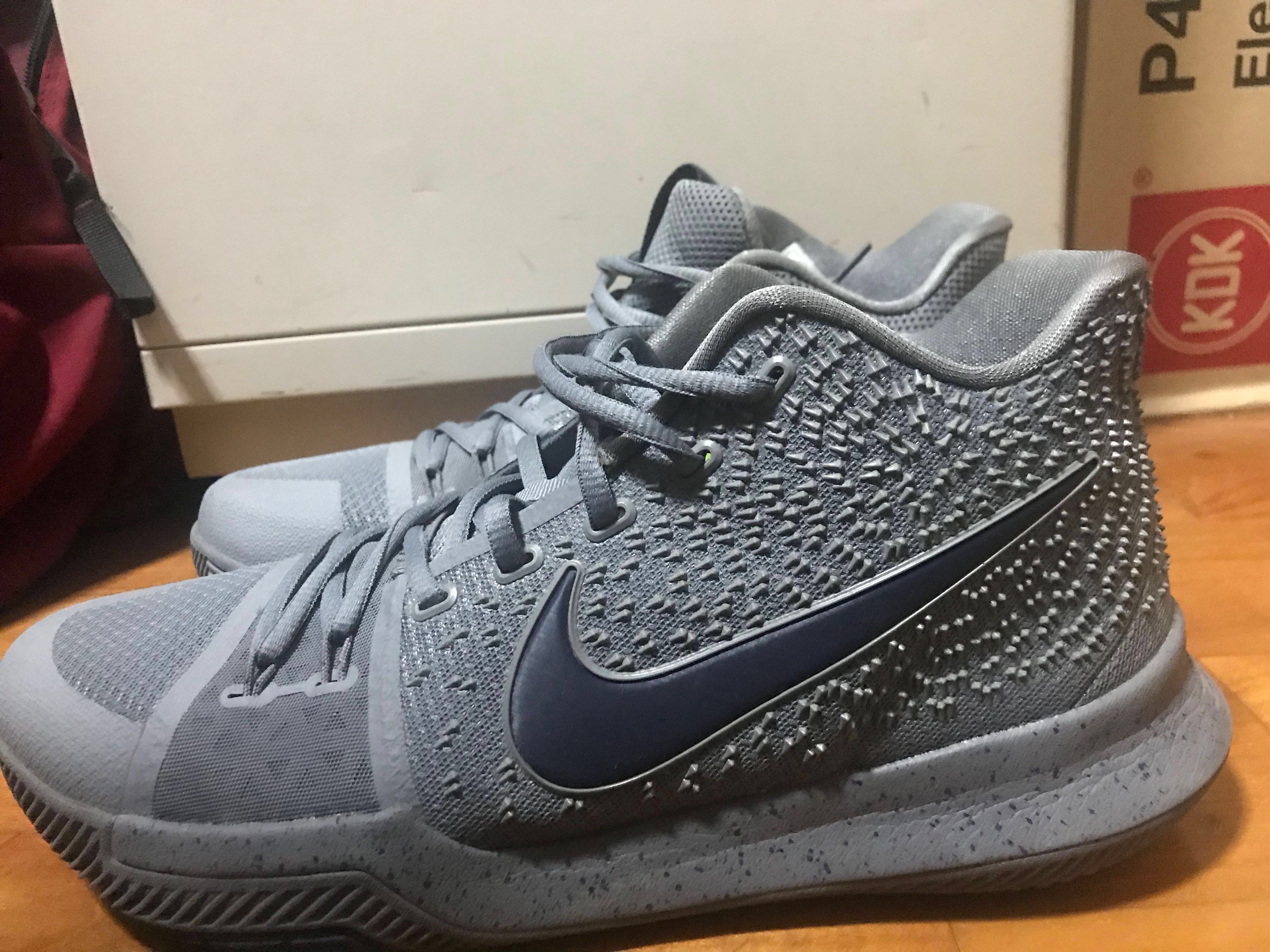 huge discount 45b46 deae6 Nike Kyrie 3 Basketball Shoes Authentic Sports Sports Apparel On