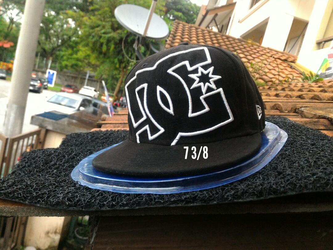 a8a67a6d90f Ori new era x dc cap 7 3 8 cap topi hat snapback
