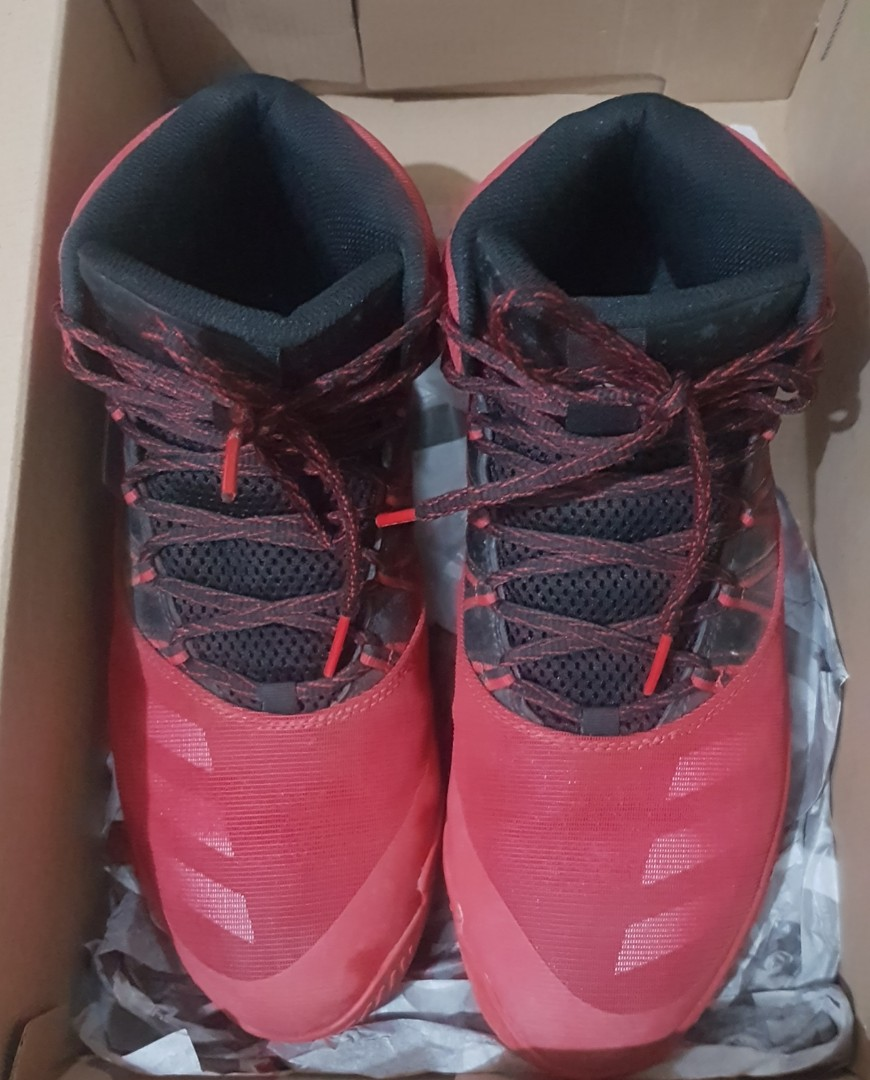 ff88ff0b9d1 PRELOVED  Adidas Infiltrate basketball shoes size 9.5 US