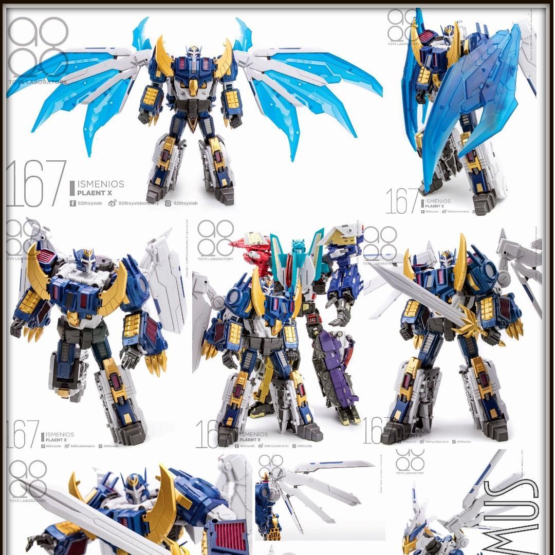 In Stock New Planet X Transformers PX-C01 Ismenios Deathsaurus Action figure