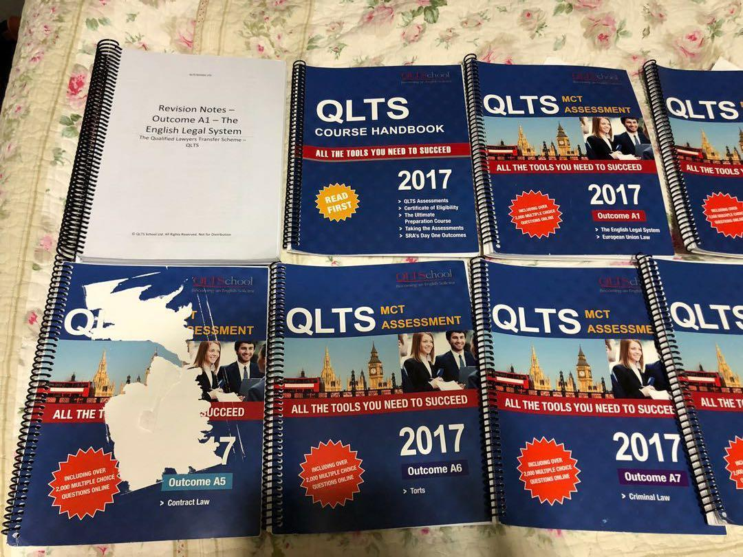 QLTS MCT ASSESSMENT HANDBOOKS, Books & Stationery, Textbooks