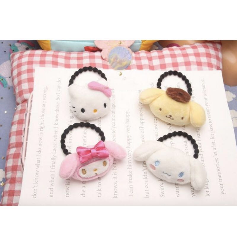 Ready stocks) Handmade Sanrio hair ties 7246f7da4e4