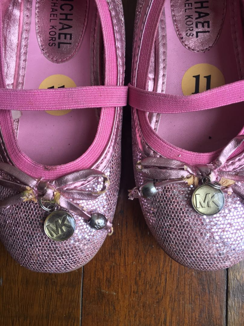 8fd5e9351 Michael Kors Doll shoes Sz 11, Babies & Kids, Girls' Apparel on Carousell