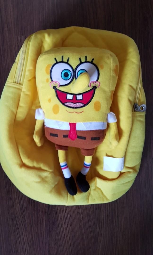 Spongebob Backpack Babies Kids Strollers Bags Carriers On