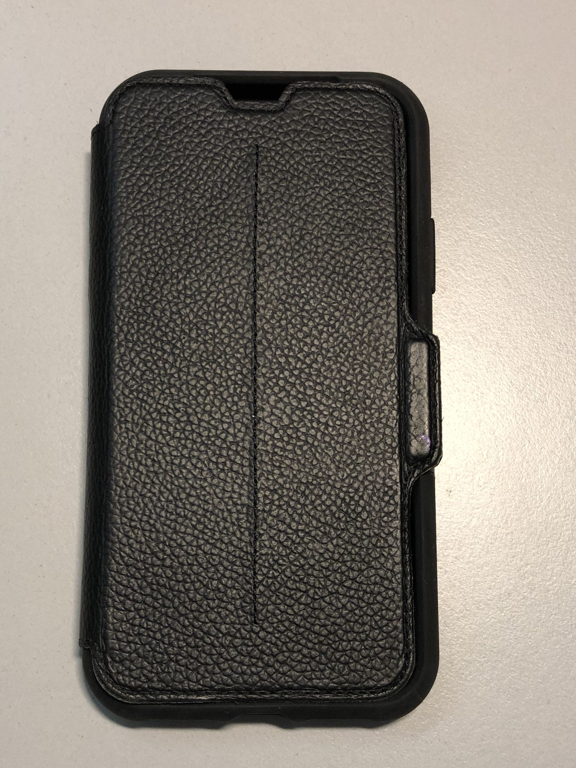 watch 54da2 fef1b Symmetry Series Leather Folio Case for iPhone X/Xs