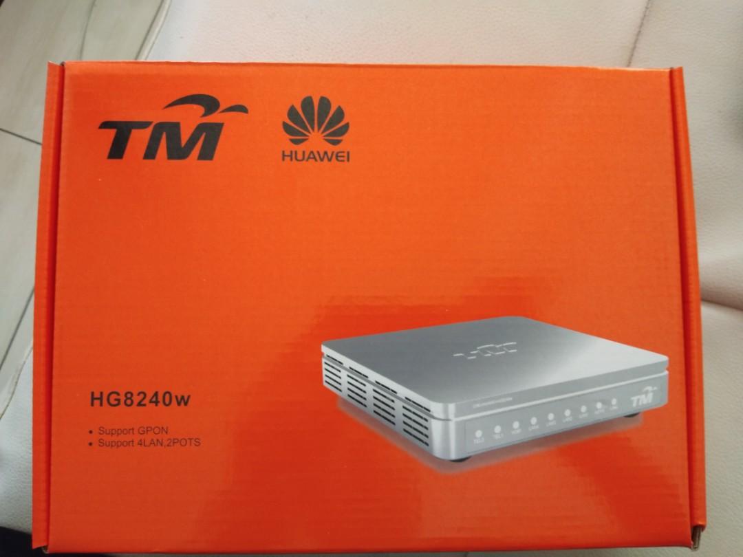 TM Huawei unifi GPON terminal