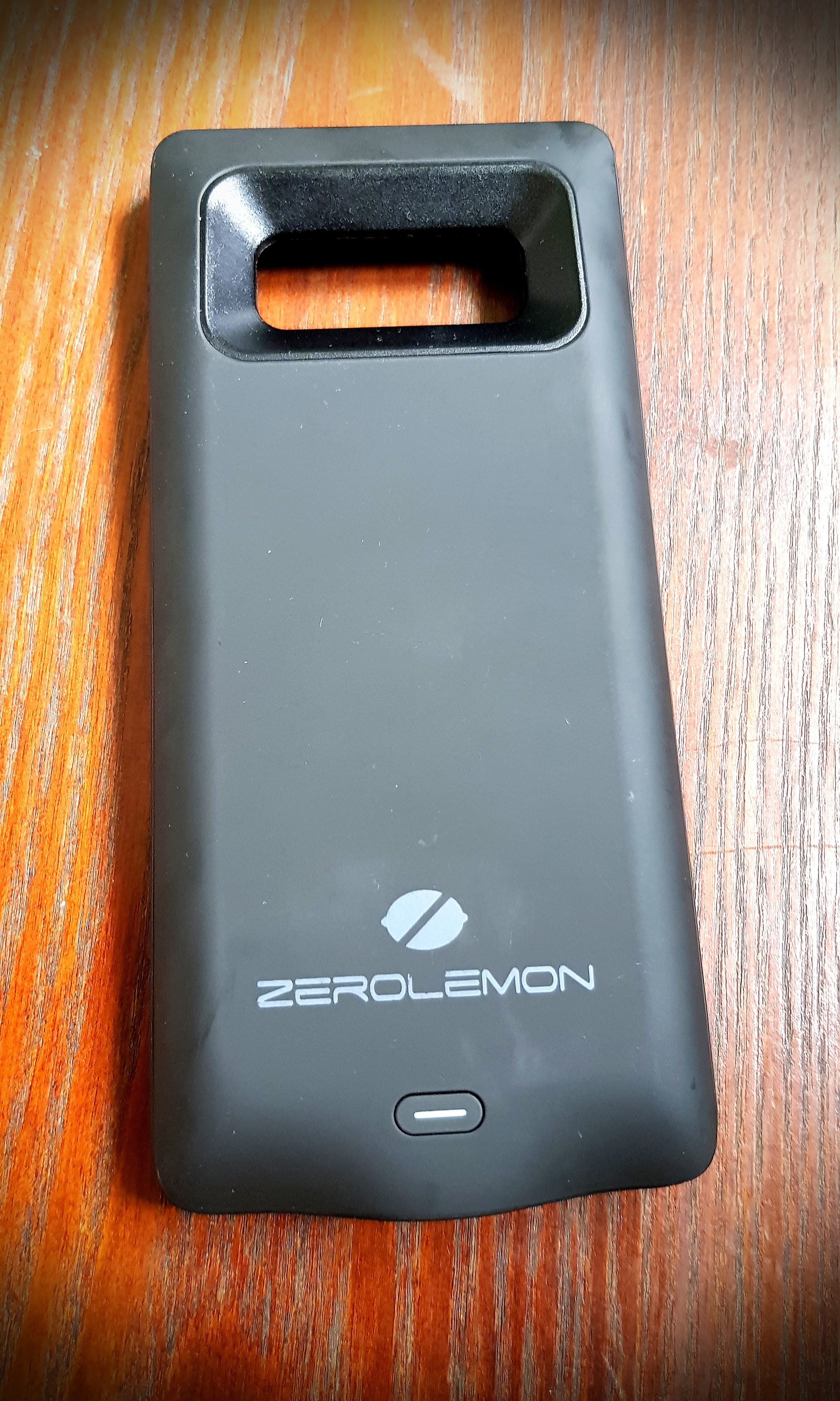 new product 70b39 064c9 Zerolemon Note 8 Battery Case