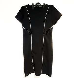 Formal Office Black Dress