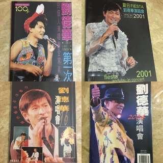 大家搜索2018劉德華演唱會門票的時候,有無想過擁有往年Andy Lau in Concert 的絕版寫真集呢❓❤️
