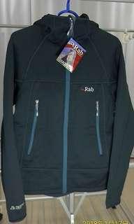 生日禮物全新連牌男裝中碼 Rab 軍用 Polartec 防風保暖 fleece jacket