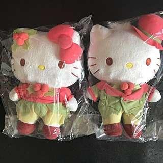 $30 BN Hello Kitty & Dear Daniel Couple Plush Set