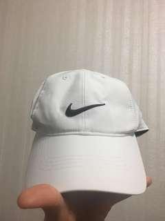 Nike帽子/Logo帽/白底黑勾