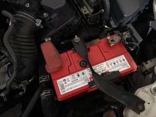 Toyota axio replace totachi battery