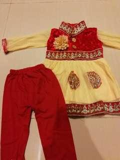 Preloved indian suit for girls