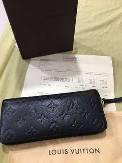 Louis Vuitton Clémence Monogram Empreinte Wallet