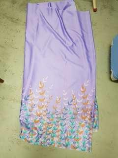 Kain Baju Kurung baju kebaya 4 meter sepasang