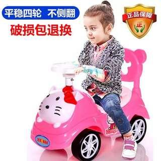 Hello Kitty Stroller Car Push Car
