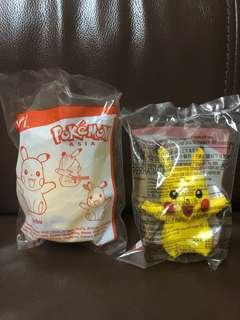 McDonald's Pokémon Asia Pikachu . New . 2 pcs available . Rm 18 each .