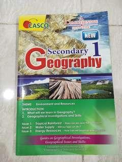 Secondary 1 Geography reference book