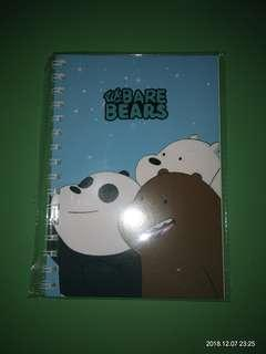 Notebook we bare bears