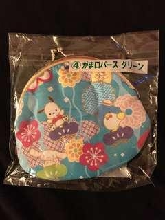 日本Sanrio一番賞 散錢包 銀包 Kitty PC xo 肉桂狗 布甸狗