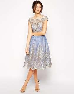Chi Chi London Lace Elsa Dress