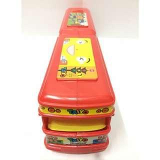 Bus Tayo Panjang Mainan Anak Laki-Laki Warna Merah HA