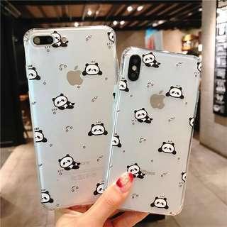 iPhone Clear Panda Case 🐼