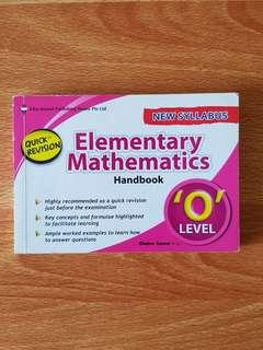 'O' Level Elementary Mathematics
