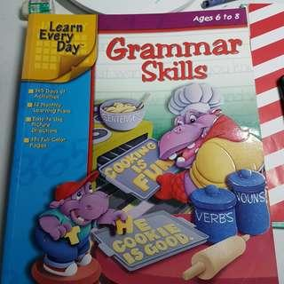 Grammar Skills (Learn Every Day) Ages 5-8