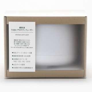 無印良品大容量超音波芬香噴霧器 約直徑168x121mm