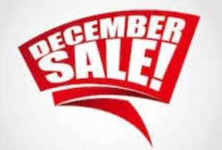 Year End - December Sale!