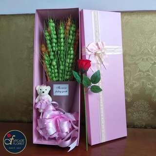 "22-Stalks Green & Orange ""Ears Of Wheat""🌾 flower Bouquet 