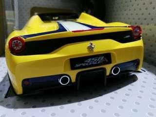 Limited Edition Original Rastar 73400 1/14 Ferrari 458 Speciale A Drift RC Car