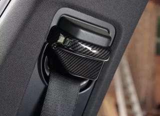 Carbon Fiber Safety Belt Cover For Mercedes Benz B CLA GLA Class W117 C117 W246