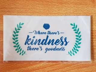 Kindness Laptop Sticker