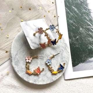 🚚 Kaden Floral Earrings