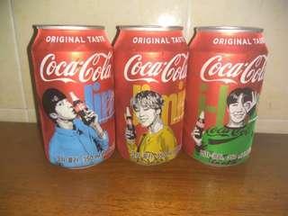 BTS COKE CANS