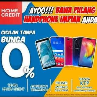 Cicilan handphone bunga 0%