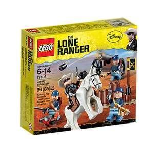 Lego Lone Ranger Calvary Builder Set