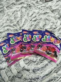水果風味軟糖(黑莓)