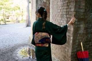 Kimono rental meisen era (free hairstyling and dressing)