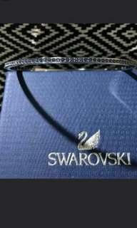 Swarovski Bracelet 全新未帶過Swarovski 施華洛世奇,外環全隻鑲嵌藍水晶純銀手鈪